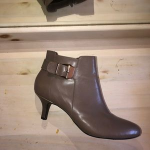 Anne Klein Kitten Heeled Booties